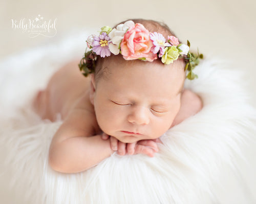 Mini Primrose Floral Crown