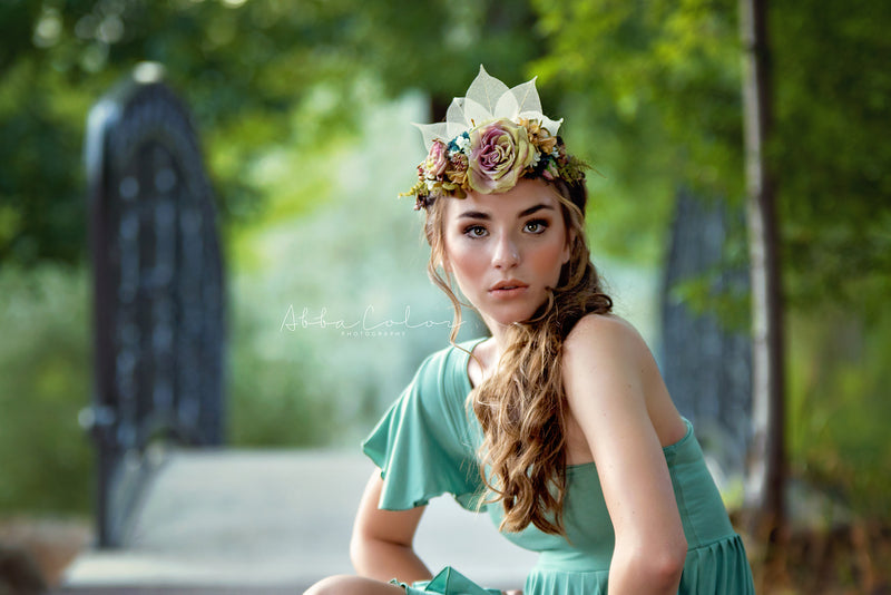 Mica Flower Crown | CLEARANCE
