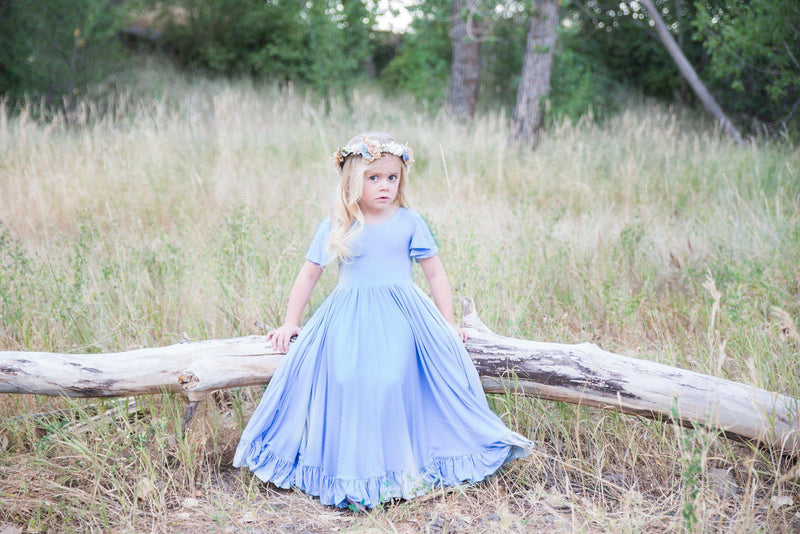 Frankie Gown-girls dresses-Sew Trendy Accessories