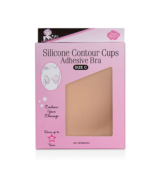 Hollywood Silicone Contour Cups {sticky bra} • C  cup | Ready To Ship