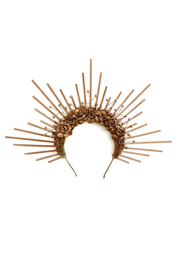 Bronze Sunburst Crown