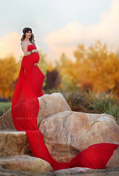 Tossing Train {train only-gown not included} • Removable Gown Train • Chiffon Detachable Train • Maternity Gown Train • Maternity Dress Train • Wedding Train • Photo Session Gown Train • by Sew Trendy