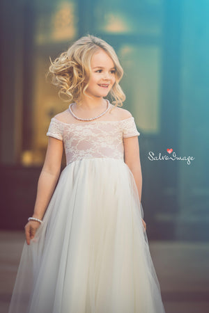 Claire Gown-girls dresses-Sew Trendy Accessories
