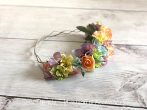 Wish Flower Crown {Pastel tones} | Ready To Ship