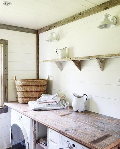 beautiful laundry room idea