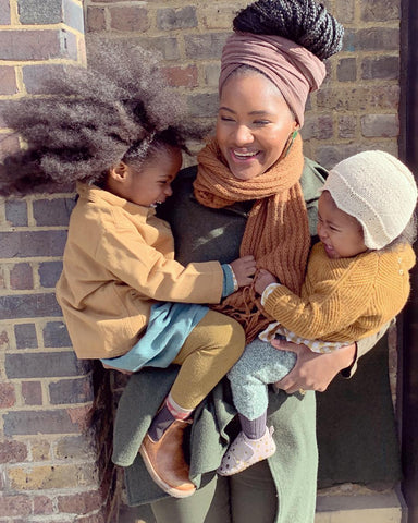 Africa The Vitamin D Project influencer with two daughters