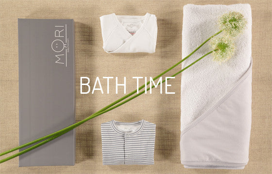 bath time mori bamboo baby clothing