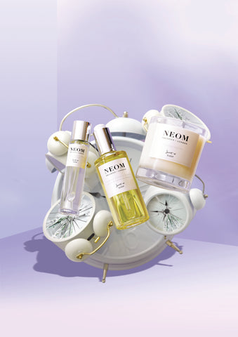 sleep better with neom aromatherapy