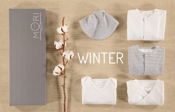 winter parcel mori bamboo baby clothing