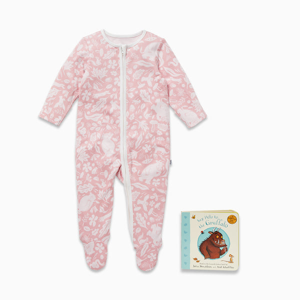 Gruffalo Foxglove Pink Bedtime Reading Set