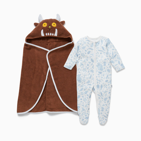 The Gruffalo Dragonfly Blue Bath & Bedtime Set