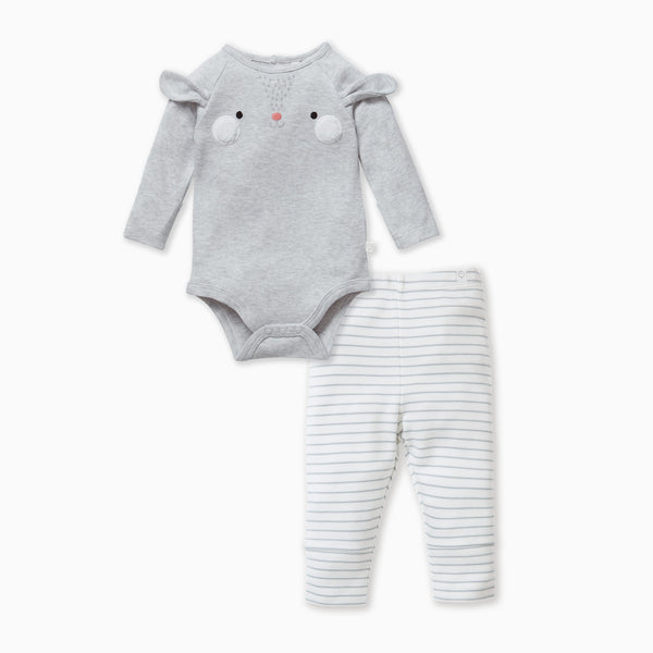 bunny suit and baby and toddler leggings