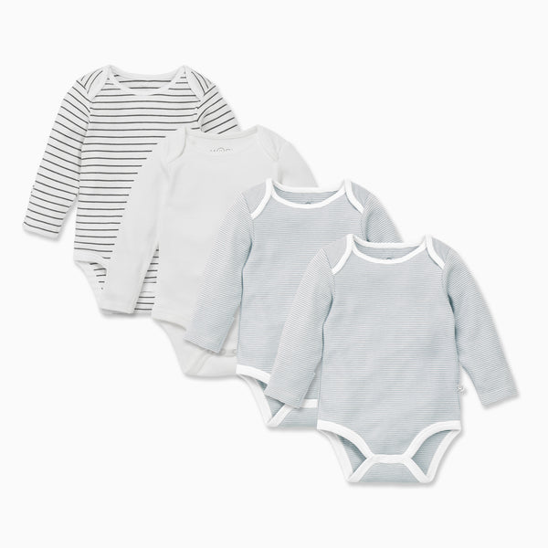Long Sleeve Bodysuit 4 Pack