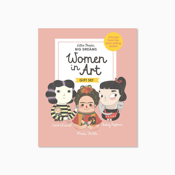 Little People Big Dreams: Women in Art Book Set