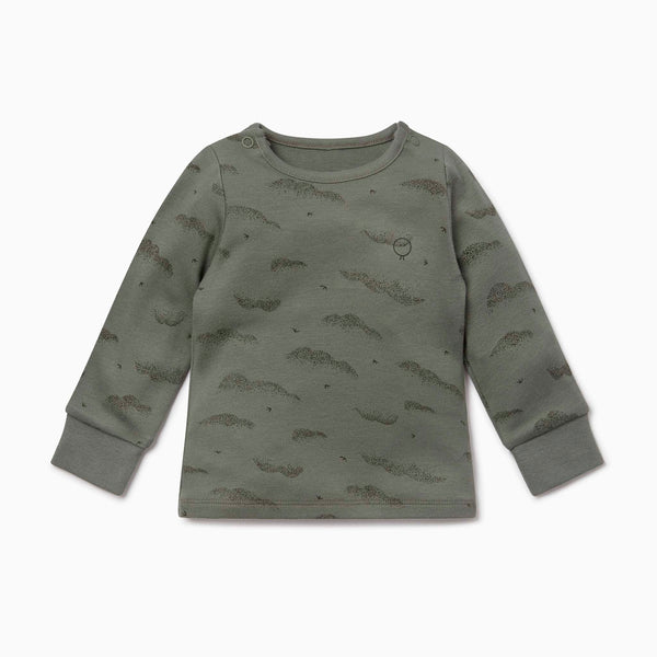 Khaki Cloud Long Sleeve T-Shirt