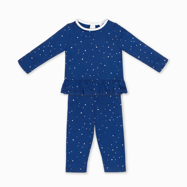 Night Sky Ruffle PJs