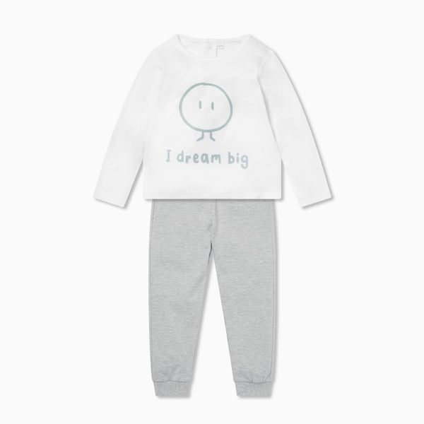 Mini Long Sleeve T-Shirt & Joggers Outfit