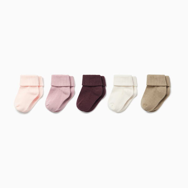 Ribbed Socks 5 Pack