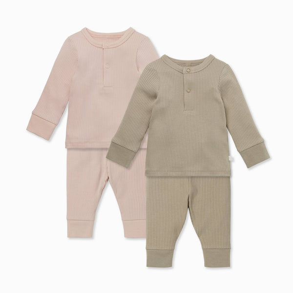 Ribbed Pyjama 2 Pack