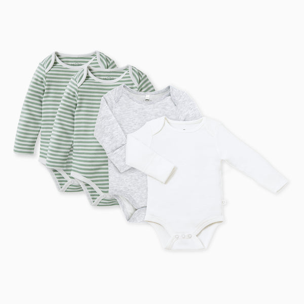 baby and toddler sage bodysuits