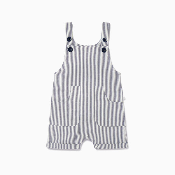 Striped Summer Dungarees
