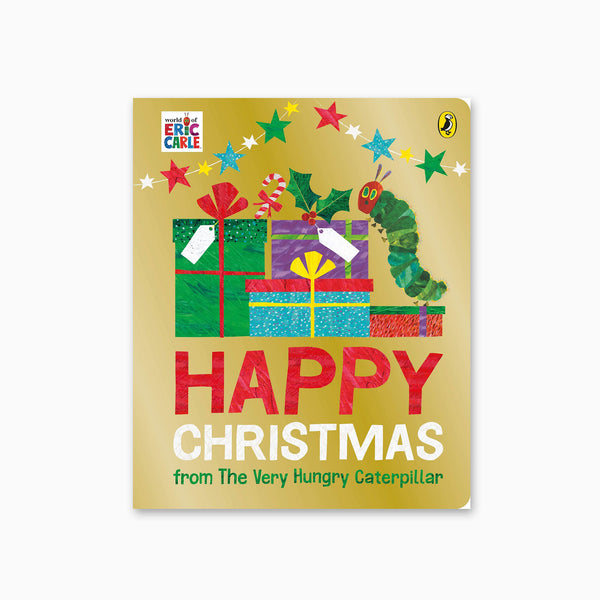 Happy Christmas from the Very Hungry Caterpillar Board Book