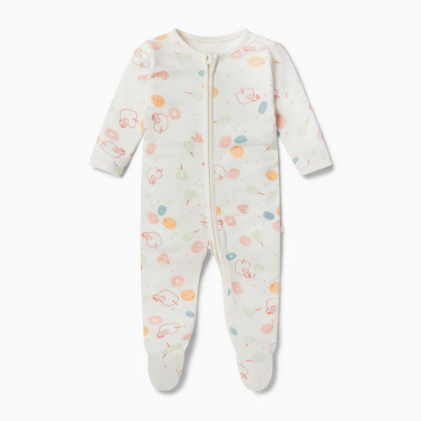 The Very Hungry Caterpillar Zip-Up Sleepsuit