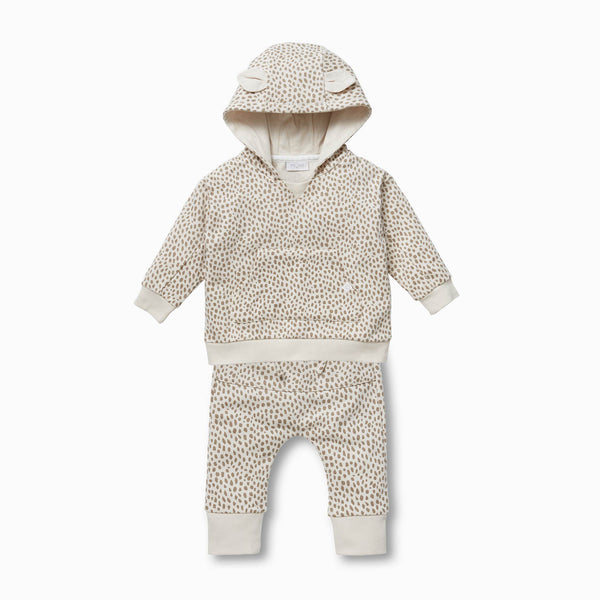 baby and toddler wild hooded sweatshirt and joggers