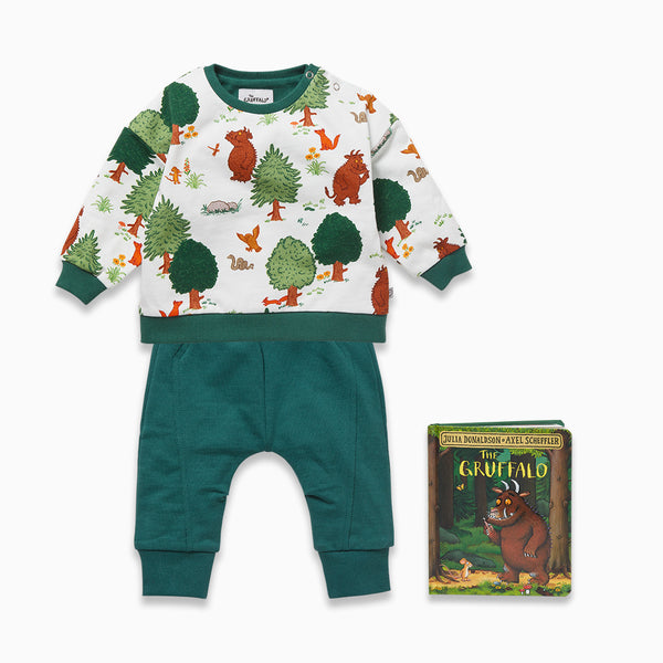 Woodland Day & The Gruffalo Book Set