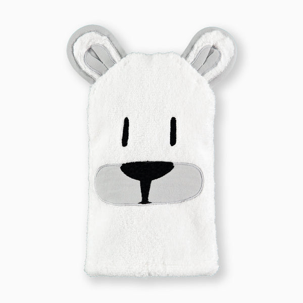 Polar Bear Bath Mitt