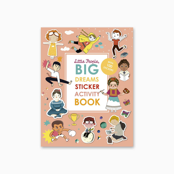 Little People Big Dreams: Sticker Activity Book