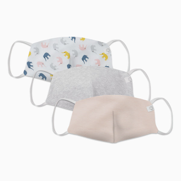 Child Reusable Face Mask 3 Pack