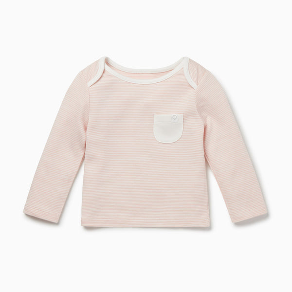 Blush Stripe Long Sleeve T-Shirt