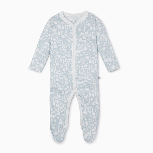 Little Polar Front Opening Sleepsuit