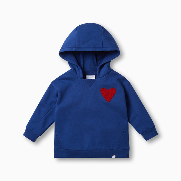 MORI Hearts Hooded Sweatshirt