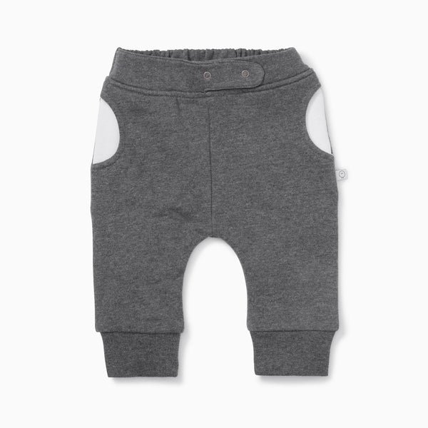 Charcoal Patch Joggers