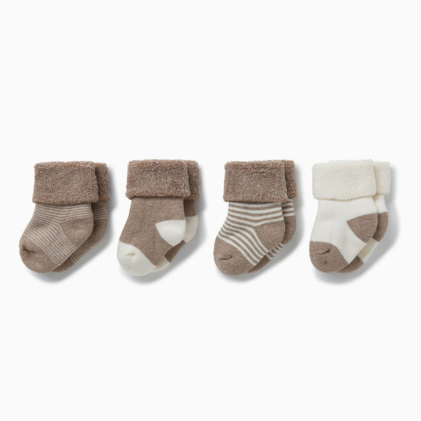 Milk & Biscuit Socks 4 Pack