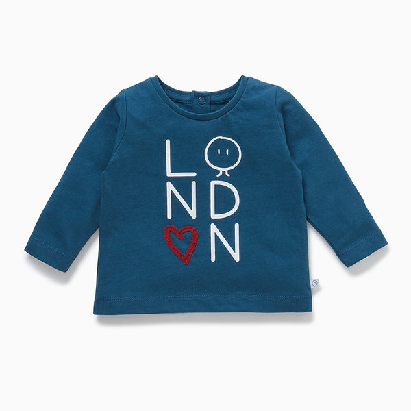 Mini London Slogan T-Shirt