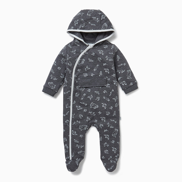 Gruffalo Stone Grey Lightweight Snugsuit