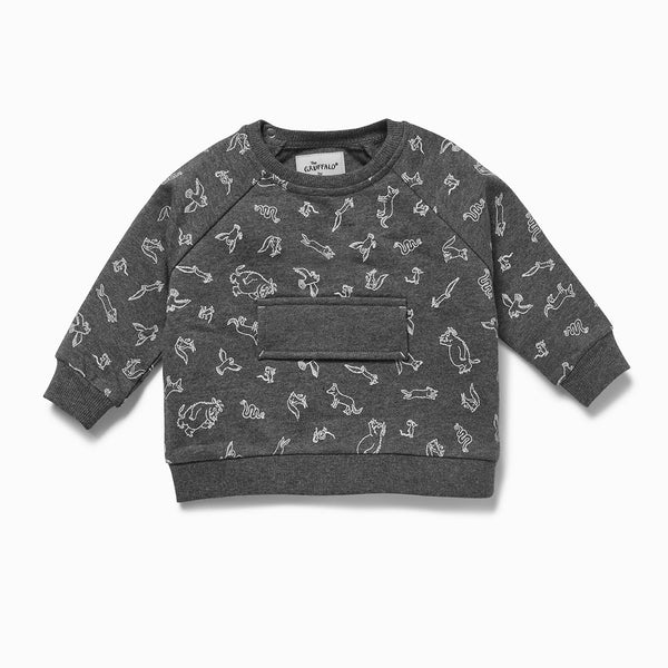 Gruffalo Stone Grey Sweater