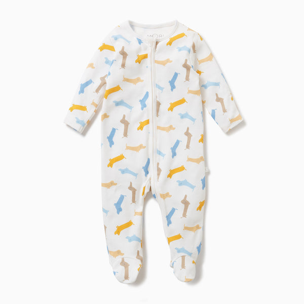 Pup Zip-up Sleepsuit