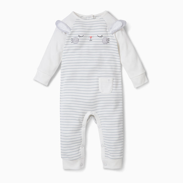 baby and toddler bunny sleepsuit