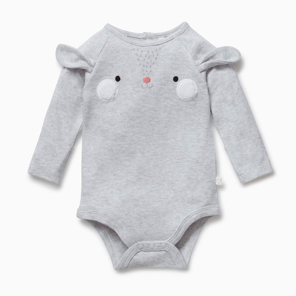 baby and toddler Bunny suit bodysuit