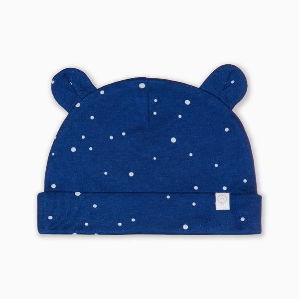 Night Sky Baby Bear Hat