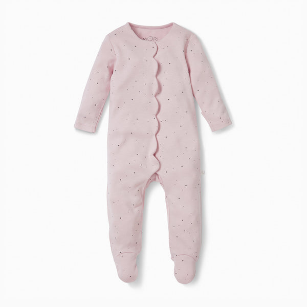 Regal Scallop Sleepsuit