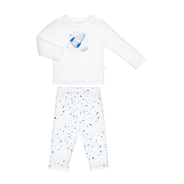 baby Space pyjama: top and leggings