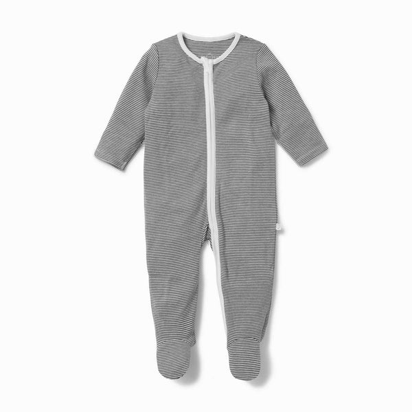 Stripey Zip-Up Sleepsuit