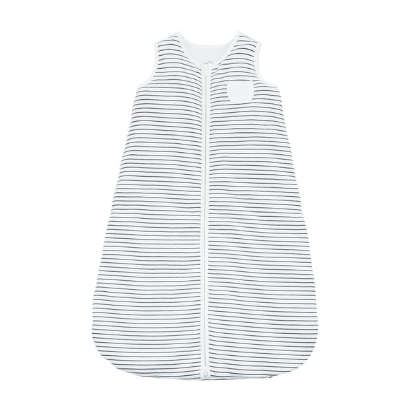 Grey Stripe Front Opening Sleeping Bag