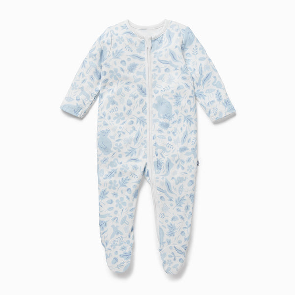 Gruffalo Dragonfly Blue Zip-Up Sleepsuit