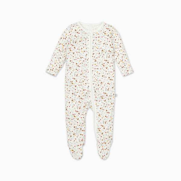 Pebble Zip-Up Sleepsuit
